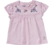 Baby T-Shirt für Mädchen blau / pastellgelb / pink / rosa