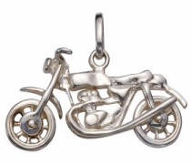 Kettenanhänger »Motorrad« silber
