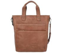 'Enzo' Shopper Tasche Leder 42 cm braun