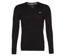 Pullover mit Kaschmir-Anteil schwarz