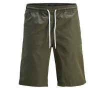 Basic-Shorts grün