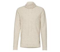 Pullover 'joraugust Knit High Neck' beige