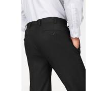 Anzug 4-teilig schwarz