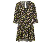 Sommerkleid mit Blumen-Print 'Jrrina' schwarz