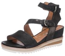 Sandaletten 'Pampas' braun / schwarz