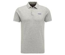 Polo Shirt hellgrau