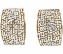 Paar Ohrstecker gold / silber