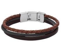 Armband »Jf02213040« braun