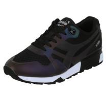 Sneaker 'Hologram' khaki / schwarz