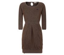 Female Dress 'The End II' braun