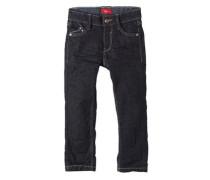 Pelle Straight: Dark Blue Jeans blau