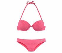 Push-up-Bikini in Häkeloptik hummer