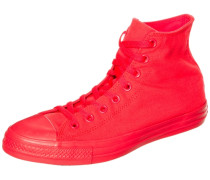Chuck Taylor All Star High Sneaker neonrot