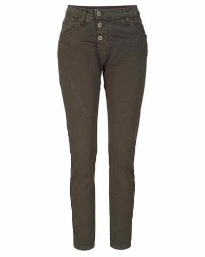Jeans Boyfriend-Hose »P78A« braun