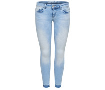Skinny Fit Jeans Coral sl ankle blue denim