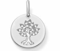 Kettenanhänger 'Baum Lbpe0008-051-14' silber