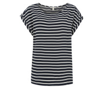 Bluse im Streifen-Design navy / weiß