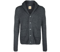 Strickjacke 'shawl Collar' grau