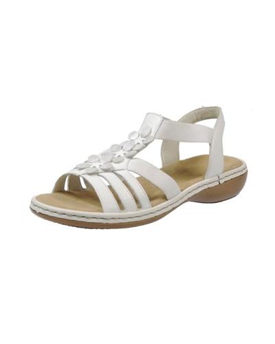 rieker damen rieker sandalen weiss reduziert. Black Bedroom Furniture Sets. Home Design Ideas