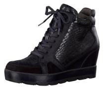 Wedgesneaker schwarz