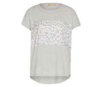 T-Shirt 'Tasmashi' grau / mischfarben