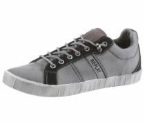 Sneaker 'Adan' graumeliert / schwarz