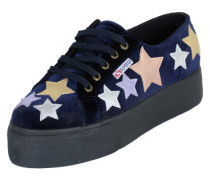 Samt-Sneaker 'Velvcotmetw' navy