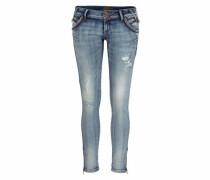 Destroyed-Jeans 'Rosella' blau