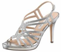 Nina High-Heel-Sandalette silber