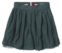 Rock 'lace Skirt' grün