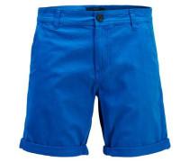 Klassische Chinoshorts blau