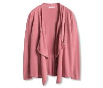 Cardigan mit Zipper pink