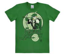 "T-Shirt ""Green Arrow"" grün / pastellgrün / hellgrün"