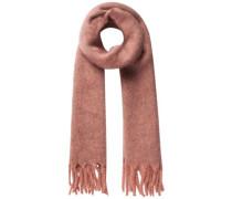 Langer Strick Schal lachs / pink