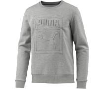 Sweatshirt Herren grau