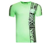 T-Shirt im verwaschenen Look