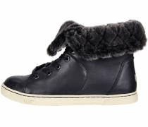 Sneaker 'Croft Luxe Quilt' schwarz
