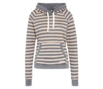 Sweatshirt grau / puder