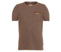 Male T-Shirt Suppenkasper VII hellbraun