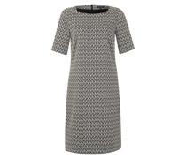 Kleid im Retro-Stil grau / beige