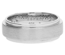 Damen Fingerring Silber 'Modern Shape' silber