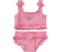Kinder Bikini Meerjungfrau UV-Schutz 50+ rosa