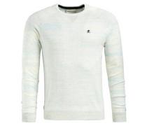 Pullover 'natas' hellblau / weißmeliert
