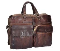 Castagno Handtasche Leder 35 cm braun