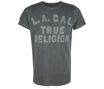 T-Shirt 'T Religion' graphit