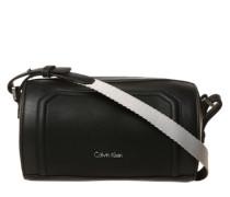 Umhängetasche im Duffle Bag-Stil schwarz