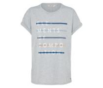 T-Shirt 'ladies' graumeliert