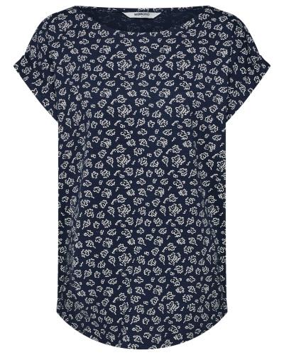 Shirt 'Holly' navy / weiß