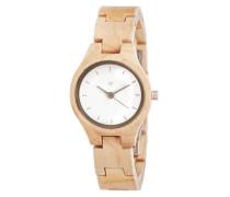 Uhr 'Adelheid Maple' beige