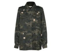 Jacke 'military' oliv